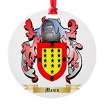 Manin Round Ornament