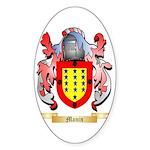 Manin Sticker (Oval 10 pk)