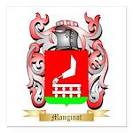 Manginot Square Car Magnet 3