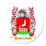 Mangino Round Car Magnet