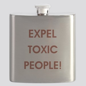 EXPEL TOXIC PEOPLE! Flask
