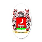 Mangeon Oval Car Magnet