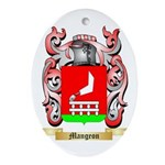 Mangeon Oval Ornament