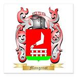 Mangenot Square Car Magnet 3