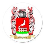 Mangeney Round Car Magnet