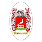 Mangenet Sticker (Oval 50 pk)