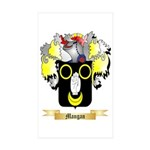 Mangan Sticker (Rectangle 10 pk)