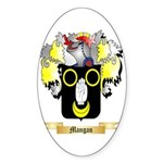 Mangan Sticker (Oval)