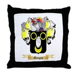 Mangan Throw Pillow