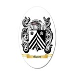 Maney 20x12 Oval Wall Decal