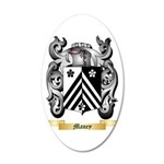 Maney 35x21 Oval Wall Decal