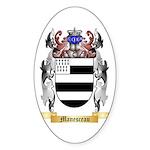 Manesceau Sticker (Oval 50 pk)