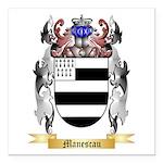 Manescau Square Car Magnet 3