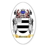 Manescau Sticker (Oval)