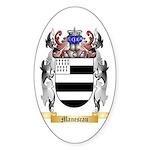 Manescau Sticker (Oval 50 pk)