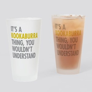 Kookaburra Thing Drinking Glass