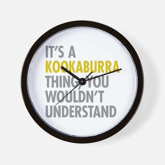 Kookaburra Thing Wall Clock