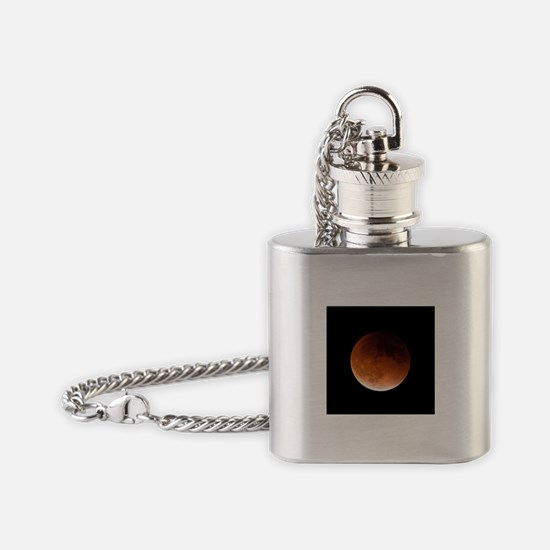 Supermoon Eclipse Flask Necklace