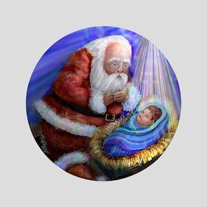 CHRISTMAS REASON Button