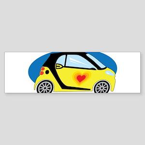Smart Love Bumper Sticker