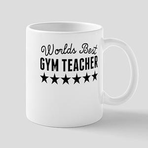 Worlds Best Gym Teacher Mugs