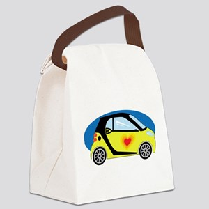 Smart Love Canvas Lunch Bag