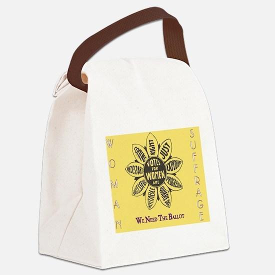 Unique Feminism Canvas Lunch Bag