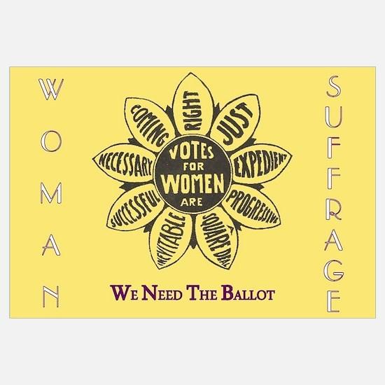 Unique Votes for women Wall Art