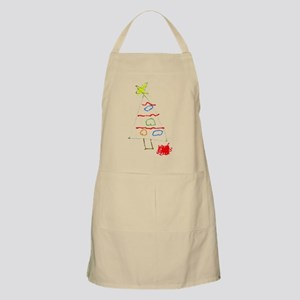 Christmas Tree Sketch Apron