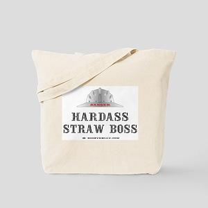 Straw Boss Tote Bag