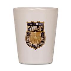 Prohibition Shot Glass