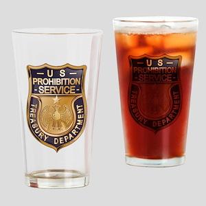 Prohibition Drinking Glass