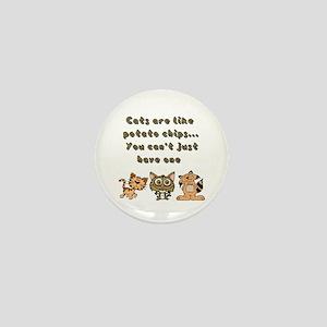Cats Are Like... Mini Button