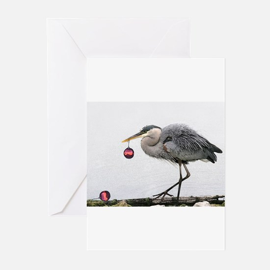 Unique Blue heron Greeting Cards (Pk of 20)