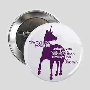 "Purple Unicorns 2.25"" Button"