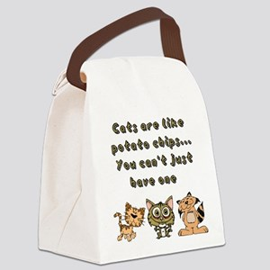 Cats Are Like... Canvas Lunch Bag