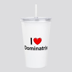 Dominatrix Acrylic Double-wall Tumbler