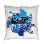 Snowmobile GUY Everyday Pillow