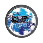 Snowmobile GUY Wall Clock