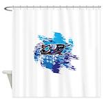 Snowmobile GUY Shower Curtain
