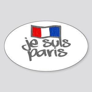 Je Suis Paris - I Am Paris Sticker