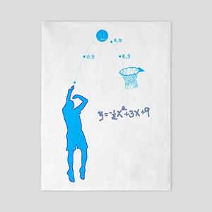 Basketball Shooter Quadratic Equation Twin Duvet
