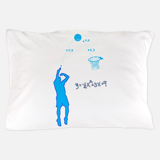 Basketball Shooter Quadratic Equation Pillow Case