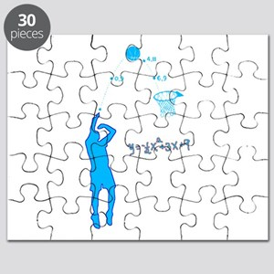 Basketball Shooter Quadratic Equation Puzzle