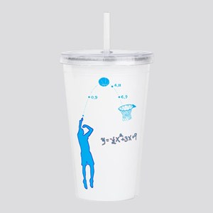 Basketball Shooter Qua Acrylic Double-wall Tumbler