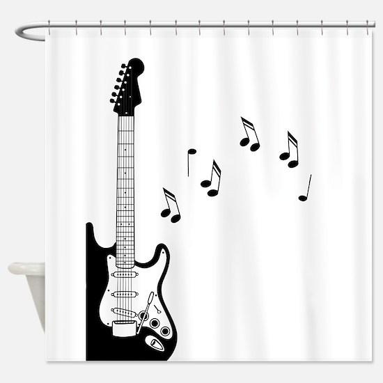 Unique Musical Shower Curtain