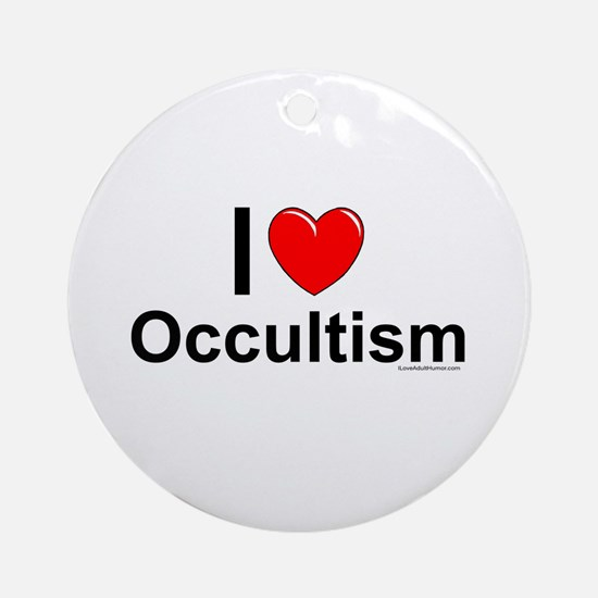 Occultism Round Ornament