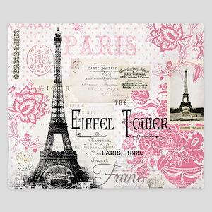 Eiffel Tower King Duvet