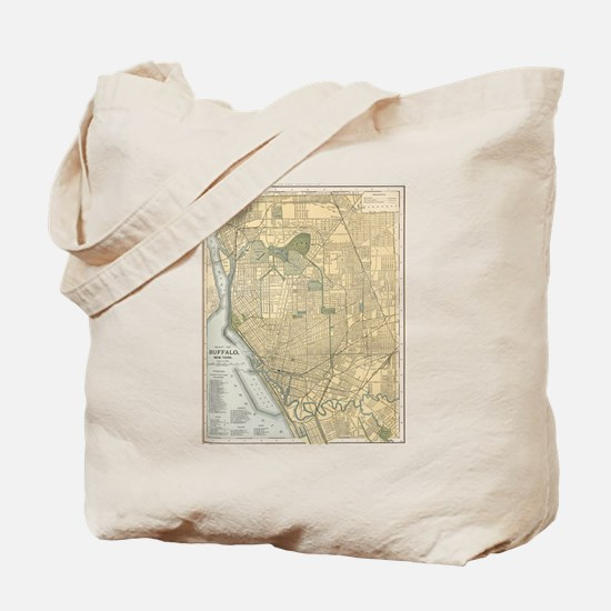 Cute Buffalo new york Tote Bag
