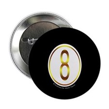 8 Ball Billiard Ball 2.25